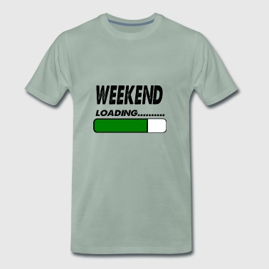 weekend loading - Men's Premium T-Shirt