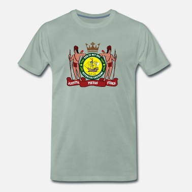 Suriname Kroon WP Suriname - Mannen Premium T-shirt