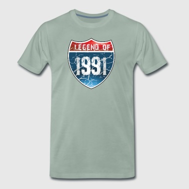 Legend Of 1991 - T-shirt Premium Homme