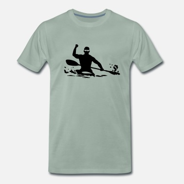 Kayak Kayak - Men's Premium T-Shirt