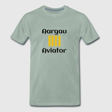 Aargau aviator - Men's Premium T-Shirt