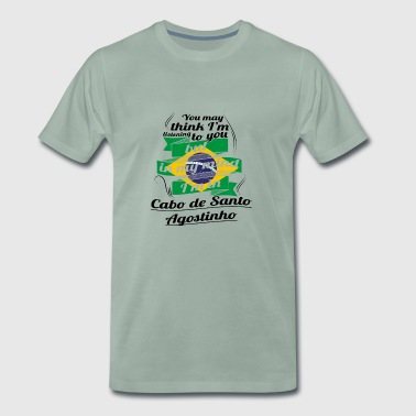 HOLIDAYS brazil brasil TRAVEL IN IN Brazil Cabo - Men's Premium T-Shirt