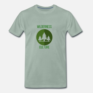 Cultura Pop Wilderness Culture Wilderness Culture Árboles de regalo - Camiseta premium hombre
