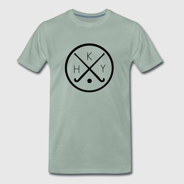 Field hockey logo - Men's Premium T-Shirt