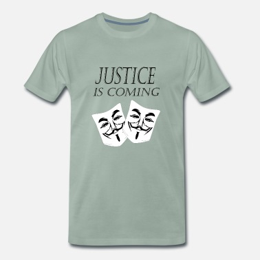 Justice justice is coming - Men's Premium T-Shirt