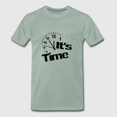 Its Time sw - Männer Premium T-Shirt