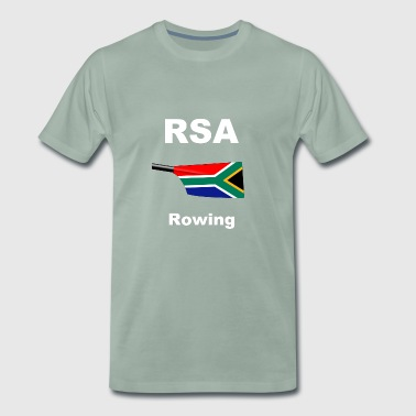 RSA South Africa South Africa Rowing Rowing Aviron - Men's Premium T-Shirt