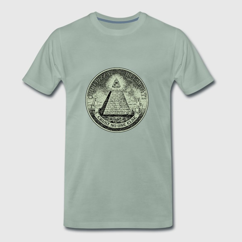 PizzaIlluminati - Men's Premium T-Shirt