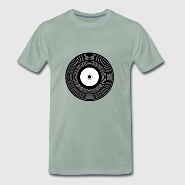 record - T-shirt Premium Homme