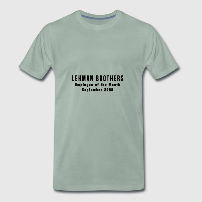 Lehman Brothers - T-shirt Premium Homme