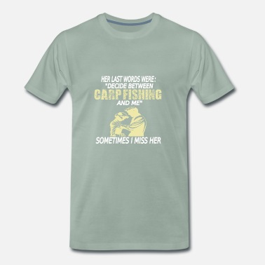 Carpfishing Carpfishing carp fishing carp fishing carp - Men's Premium T-Shirt