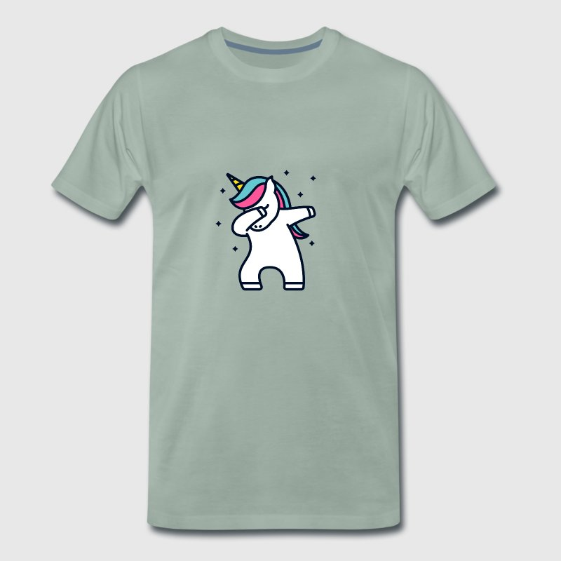 Unicorn Dab Dabbing Unicorn Gift - Men's Premium T-Shirt