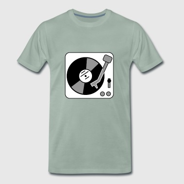 Turntable - turntable - Men's Premium T-Shirt