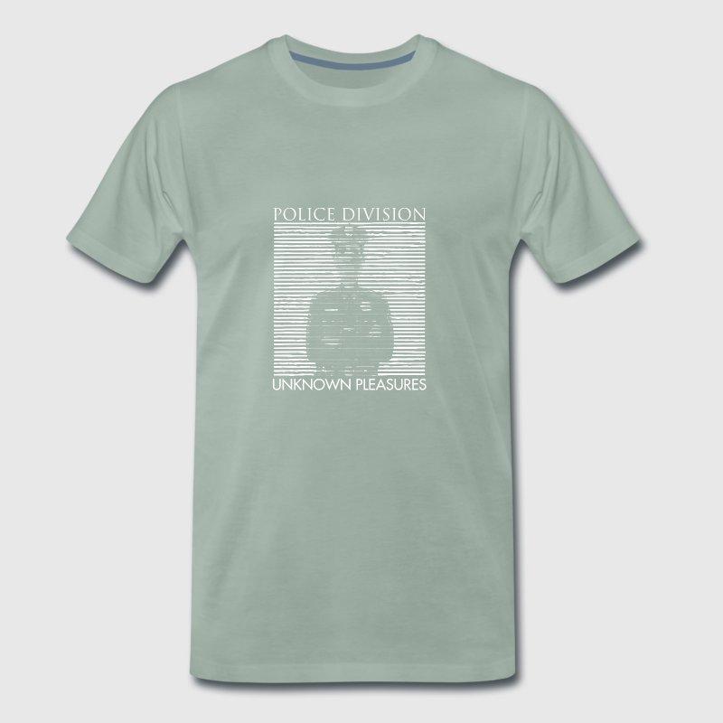 Police Division and Unknown Pleasures T-shirt - Men's Premium T-Shirt