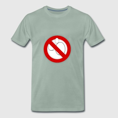 Eggs forbidden - Men's Premium T-Shirt