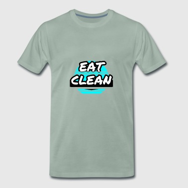 EAT CLEAN - Men's Premium T-Shirt