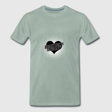 Heartbeats for the year 1977 - Men's Premium T-Shirt