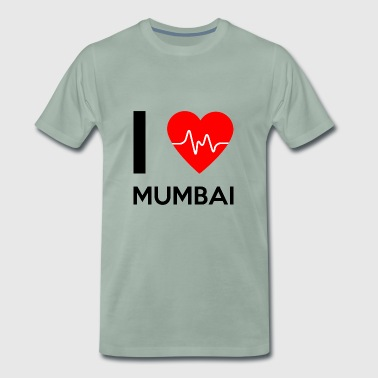 I Love Mumbai - I Love Mumbai - Men's Premium T-Shirt