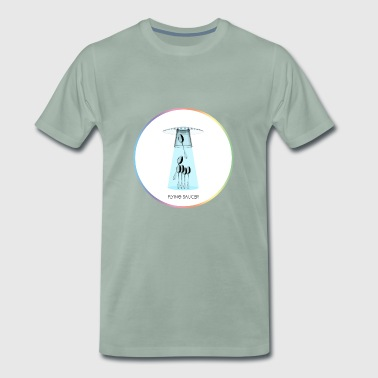 FLYING SAUCER - Men's Premium T-Shirt