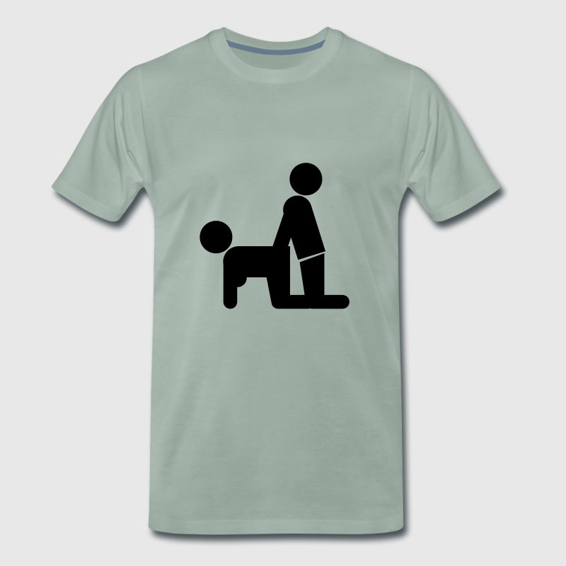 Analsex Doggy Style - Men's Premium T-Shirt