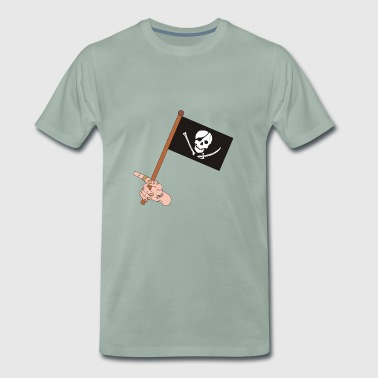 Jolly Roger - Premium T-skjorte for menn