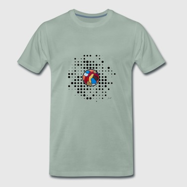 Point point point art - Men's Premium T-Shirt