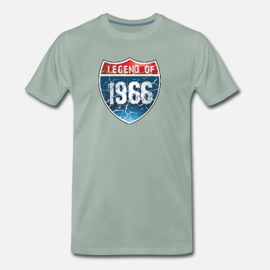 1966 Legend Legend Of 1966 - Men's Premium T-Shirt