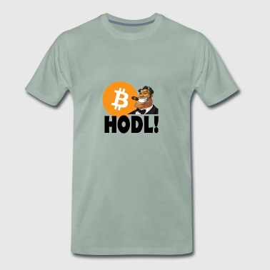 Hodl Bitcoin - Men's Premium T-Shirt