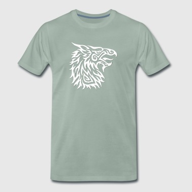 White Gryphon - Men's Premium T-Shirt