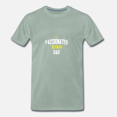 Tennis Dad Distressed - Appassionata TENNIS DAD - Maglietta Premium da uomo