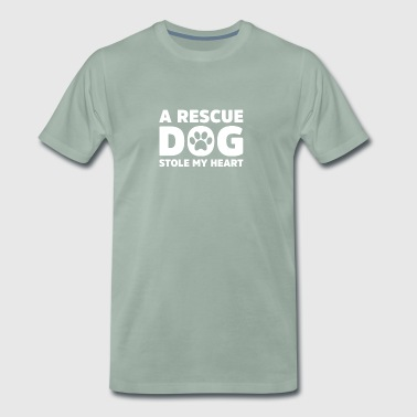 Rescue Dog - Men's Premium T-Shirt