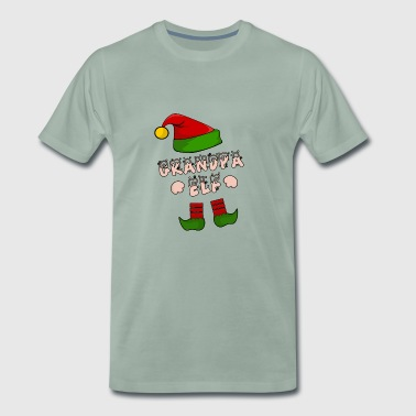 Grandpa, Grandparents, Grandpa, Opi, grandfather Elfen Elf - Men's Premium T-Shirt