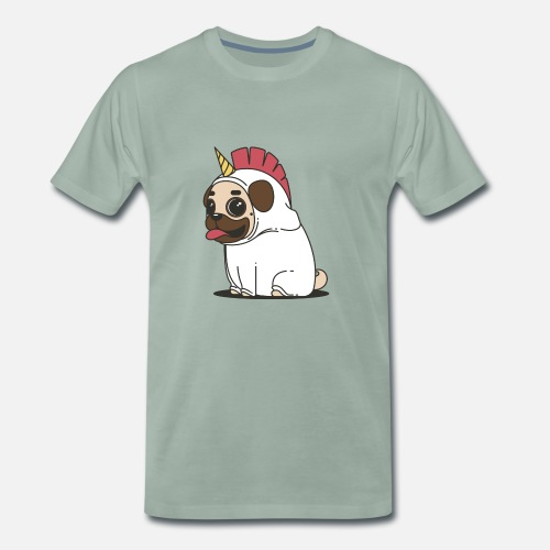 Pug In Unicorn Fever Our Dog As Unicorn By Norisshirts Spreadshirt