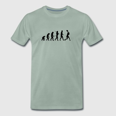 Evolution Tennis, Tennis Player / en cadeau - T-shirt Premium Homme