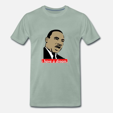 Martin Luther King Martin Luther King Ik heb een droom - Mannen Premium T-shirt