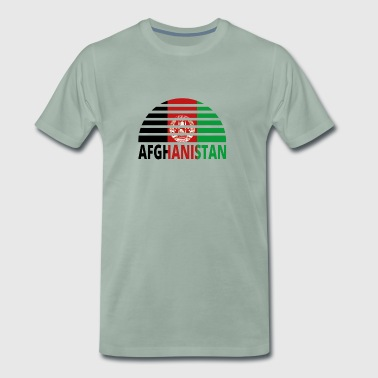 Sunset Sunburst Home home roots AFGHANISTAN png - Men's Premium T-Shirt