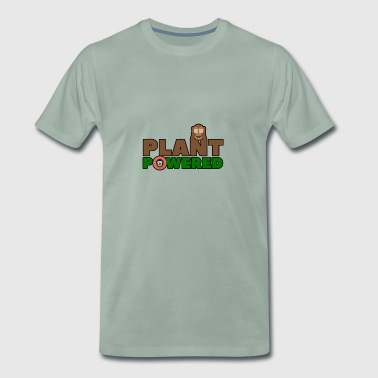 Powered By Plants PLANT POWERED - Men's Premium T-Shirt