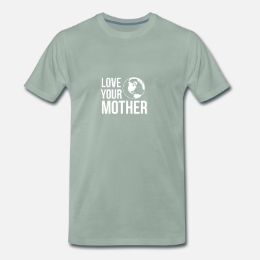 Earth Day Earth Day Moder Natur - Premium-T-shirt herr