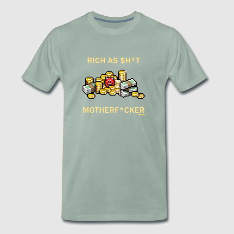 Rich Devil - Mannen Premium T-shirt