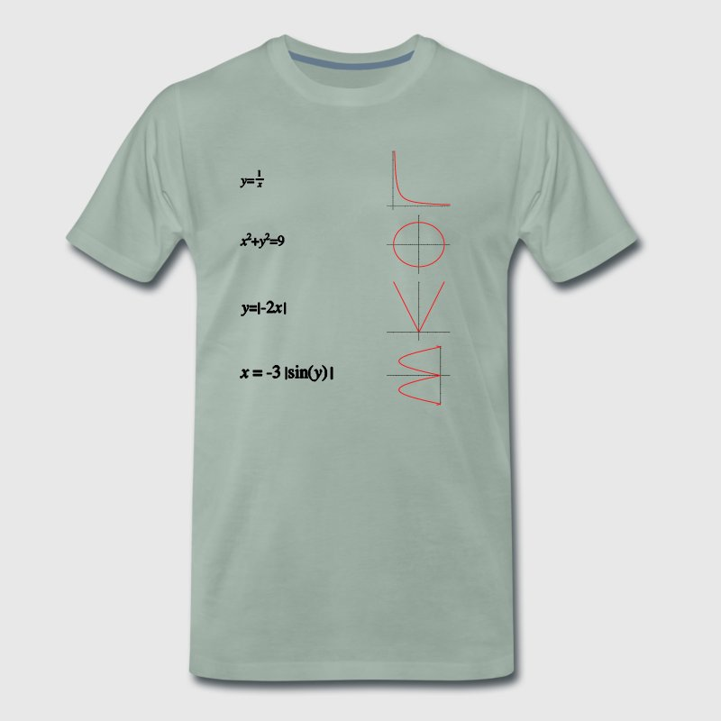 Mathe love - Männer Premium T-Shirt