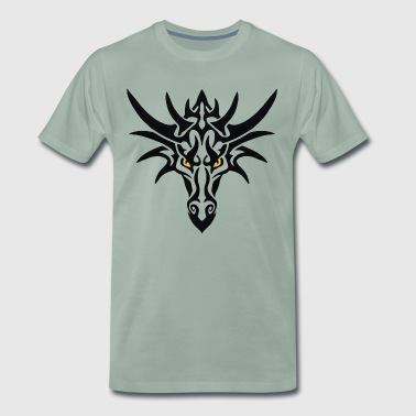 Tribal Dragon - Männer Premium T-Shirt