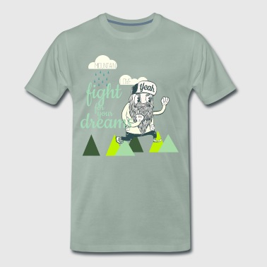Fight for your Dreams - Männer Premium T-Shirt