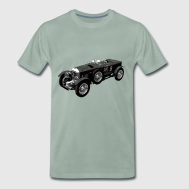 Bentley 4.5 litre classic race car - Camiseta premium hombre