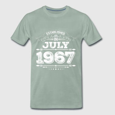Established in July 1967 - Men's Premium T-Shirt