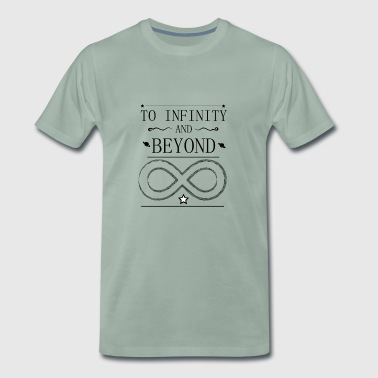 To infinity and much further - Men's Premium T-Shirt