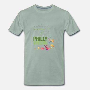 Philly Philly Special American Football - Men's Premium T-Shirt
