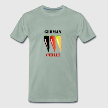Deutsch Chilli - Männer Premium T-Shirt