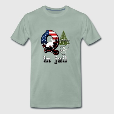 Voting Qistmas in jail - Men's Premium T-Shirt