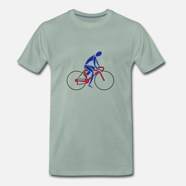 Bike Racer Bike Racer, Fluid - Men's Premium T-Shirt