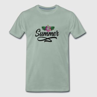 summer - Premium T-skjorte for menn